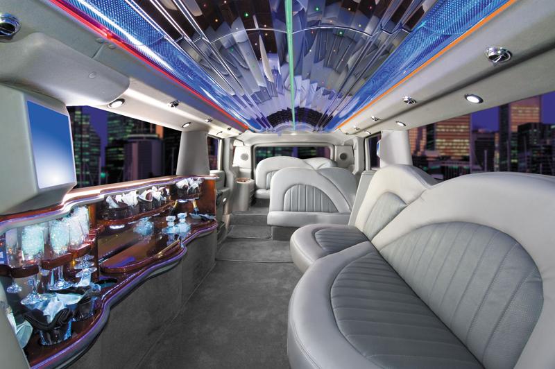 A Inside Limousine Hummer Limo