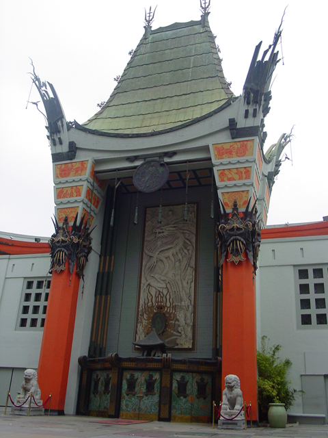 Grauman's Chinese theater. Private Car Service Tour.